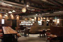Hotel, bars and cafés
