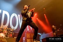Shinedown in Dublin, Ireland 5/6/17