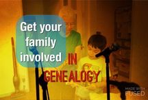 Getting Kids Involved in Genealogy / Inspiration for getting kids involved in genealogy. How to bring the family together.