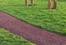 Playground Rhino Mulch Rubber Bound Bark Surfaces