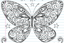 butterfly drawning