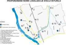 Białołęka - rowery - Veturilo / Białołęka - rowery - Veturilo