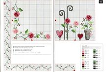 Blumen/Flowers Cross Stitch