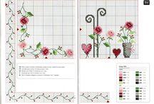 Blumen/Flowers Cross Stitch