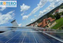 Fotowoltaika / Realizacje firmy #ROTERO w zakresie elektrowni słonecznych oraz zagadnienia związane z fotowoltaiką.