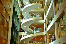 Libraries & Staircases