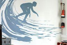 Серфинга в интерьере много не бывает