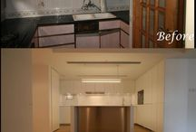 Hong Kong projects Before and After shots / A series of transformations on some of our most amazing projects.