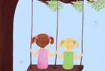 kids. (big sis <3's lil sis) / by Liza Brooks-Winkler