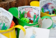 Tilda's 2nd Birthday, Peter Rabbit theme