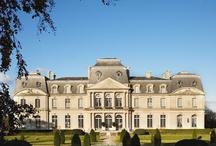 5 chateaux / 5 castles / groupe familial regroupant 5 châteaux-hôtels en France Family owned company of 5 castles hotels in France