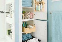 Bathroom closet / by Bonnie Annis