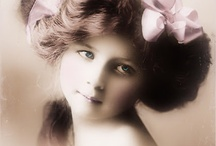 Vintage Ladies and Children / by Stephanie Bargelski