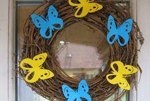 jarní dekorace / vyrábí s dětmi