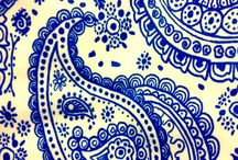Paisley / It's amazing how many variations there are on the paisley design theme