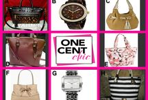 EVER SO CHIC / Great Items tonight at 10 PM EST from Michael Kors, Kate Spade, Coach & Brahmin @OneCentCHic