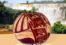 Yerba Mate Gourds / Hand made Artisan gourds