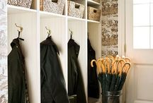 MUDROOM | ENTRYWAY Organization / by Professional Organizer Geralin Thomas