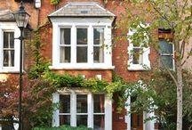 Terrace house exteriors