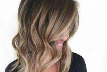 blonde ambre hair