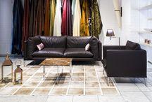 Modern bőr ülőgarnitúrák / Modern stílusú bőr és szövet ülőgarnitúrák, kanapék és fotelok széles választéka.