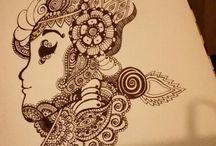 Art Doodles & Journaling / Art book journaling, zentangle doodles,  and other creative creations