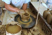 Pottery - Rhodes Island Greece / Handmade pottery in Rhodes Island Greece