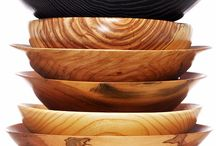 Ivan Braun for NYBG / Bronx based woodworker Ivan Braun makes hand turned bowls and vases out of fallen wood that we give him from the Garden. Each piece is one of a kind, signed, and dated.