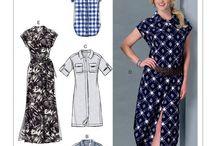 Sewing patterns