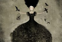 Picture of Anne-Julie Aubry / Gloomy little girls