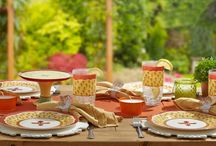 Summer Soiree / Enjoy dining outside while embracing your sense of style with colorful melamine dinnerware! / by Pfaltzgraff