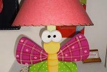 lámparas en country