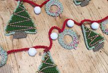 Новый год вязание