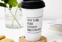 Tillyanna - travel mugs / A range of eco-friend travel mugs by Tillyanna