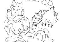 Cross-stitch---Animal templates