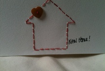 new home cards / by lynne @ It's a Messy Nest