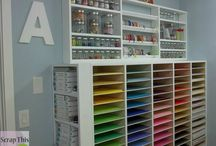 Craft Room Ideas / Different craft room clips I like to design my own.