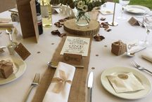 wedding table's
