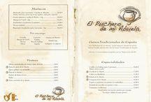 Nuestra Carta / Echa un vistazo a nuestra carta donde tenemos platos tradicionales, para todos los gustos y de 1º calidad.