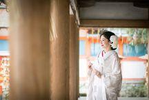京都の寺社仏閣 shrines and temples in Kyoto / 京都の寺社仏閣でのウェディングフォト