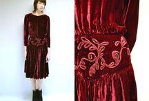 A Vintage HOLDAY DRESS Wish List