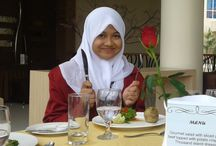Dhea Fitriany Pearl Santoso / Student, ISLAM, Daughter, ALLAH SWT.