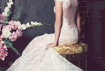 The Bride an her Dress