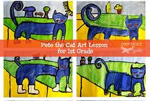 Pat the cat / by Caroline Gilbert