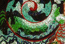 Showcase Mosaics: Abstract Mosaics / Abstract Mosaics / www.showcasemosaics.com