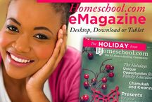 Homeschool.com Magazine - The Holiday Issue, Issue 8 / Homeschool.com's newest eMagazine offers articles about the holidays you celebrate, as well as the holidays you might want to teach your children about. These include Thanksgiving, Chanukah, Christmas, Kwanzaa, and New Year's Eve. We've even added a little information about the Winter Solstice – as winter fun (think candles, warm fires, snowmen, sleigh rides, etc.) are an integral part of the holiday season. http://www.homeschool.com/magazine/volume01/issue08/ / by Homeschool.com