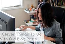 Blogging Tips & Tricks / All the tips and tricks I've collected to help me blog better.