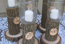 Natural party / wedding ideas
