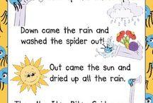 School - Nursery Rhymes / by Becca Ross