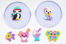 Aqua beads / Jess